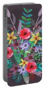 Just Flora II Portable Battery Charger