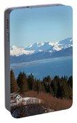 Kachemak Bay And Homer Alaska Portable Battery Charger