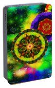 Kaleidoscope Moon For Children Gone To Soon Number - 3 Intensified  Portable Battery Charger