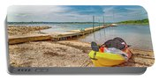 Kayaking To Goat Island Maine Portable Battery Charger