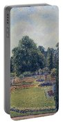 Kew Gardens - Path Between The Pond And The Palm House, 1892 Portable Battery Charger