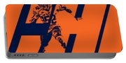 Khalil Mack Chicago Bears City Art Portable Battery Charger