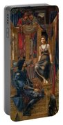 King Cophetua And The Beggar Maid 1884 Portable Battery Charger