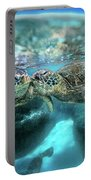 Kissing Turtle Portable Battery Charger