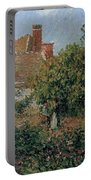 Kitchen Garden In Eragny, Afternoon, 1901 Portable Battery Charger