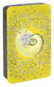 Lacy Look Shell Portable Battery Charger