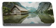 Lake Obersee Boat House Portable Battery Charger