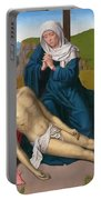 Lamentation Over The Body Of Christ Portable Battery Charger