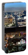 Las Vegas Night And Day Work A Portable Battery Charger
