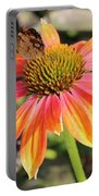 Last Cone Flower Portable Battery Charger