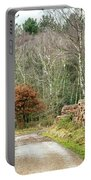 Late Leaves Portable Battery Charger by Nick Bywater
