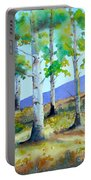 Late Summer Aspens Portable Battery Charger