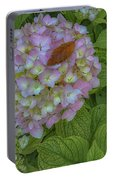 Leaf And Pink Portable Battery Charger