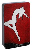 Leap Of Faith Original Painting Portable Battery Charger