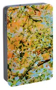 Leaves And Trees Portable Battery Charger