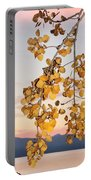 Leaves Star In Tahoe Scene Portable Battery Charger
