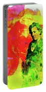 Legendary Bruce Watercolor Portable Battery Charger