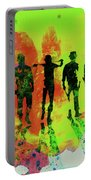 Legendary Clockwork Orange Watercolor Portable Battery Charger