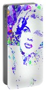 Legendary Judy Garland Watercolor I Portable Battery Charger