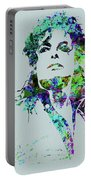 Legendary Michael Watercolor Portable Battery Charger