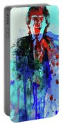 Legendary Mick Jagger Watercolor Portable Battery Charger