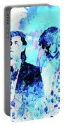 Legendary Pulp Fiction Watercolor Portable Battery Charger