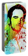 Legendary Quentin Watercolor I Portable Battery Charger