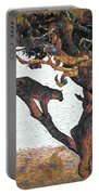 Leopard In A Tree Portable Battery Charger