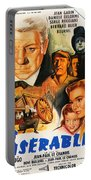 Les Miserables 1958 French Movie Classic Portable Battery Charger