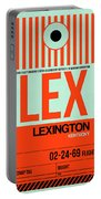 Lex Lexington Luggage Tag I Portable Battery Charger