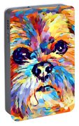 Lhasa Apso 3 Portable Battery Charger