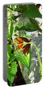 Light The Butterfly Portable Battery Charger by Robert Knight