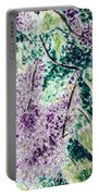 Lilac Dreams Portable Battery Charger by Monique Faella