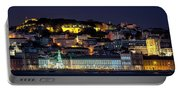 Lisbon In Christmas Time Portable Battery Charger