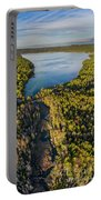 Litte Traverse Lake Vertical Panorama Portable Battery Charger