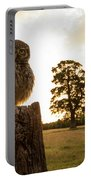 Little Owl Sunset Portable Battery Charger