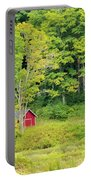Little Red House Portable Battery Charger