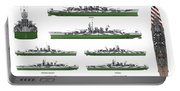 Littorio Class Battleships Portable Battery Charger
