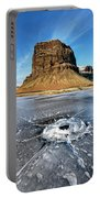 Lomagnupur Mountain Iceland Portable Battery Charger