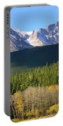 Longs Peak In The Fall Portable Battery Charger