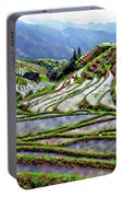 Lonji Rice Terraces Portable Battery Charger