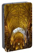 Looking Up Within The Cordoba Mezquita Portable Battery Charger