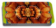 Love For The Fantasy Flowers With Happy Joy Portable Battery Charger