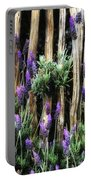 Love Of Lavender Portable Battery Charger