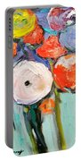 Love Of Poppies Portable Battery Charger