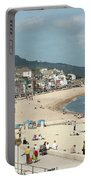 Lyme Regis Beach Portable Battery Charger