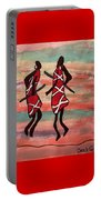 Maasai Dancers Portable Battery Charger