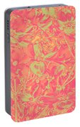 Magnolia Abstract Portable Battery Charger
