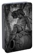 Magnolia Child Statue Portable Battery Charger
