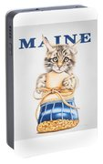 Maine Coon Kitten Portable Battery Charger